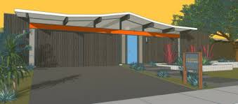 desert home plans a brand new eichler home now it s possible design milk