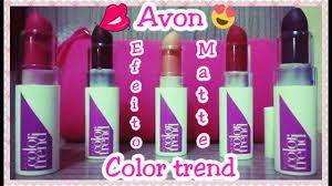 Trend Color by Avon Batom Mate Color Trend Resenha Lançamento Campanha 11 2017