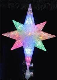 lighted tree topper 11 led lighted bethlehem christmas tree topper