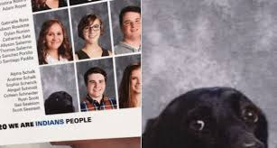 yearbook from high school service dog gets his own photo in the high school yearbook the
