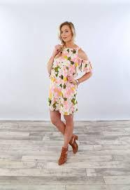 cold shoulder dress floral cold shoulder dress coco and