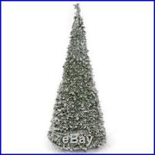 200 warm white christmas tree lights pre lit snow flocked pop up christmas tree 1 8m 200 warm white