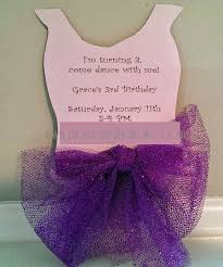 moments that take my breath away ballerina tutu invitation free