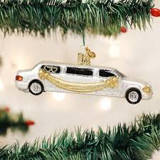 pack of just married rolls royce car polonaise christmas ornaments 5
