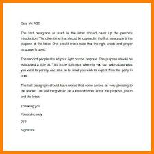 letter format spacing best business templatebusiness