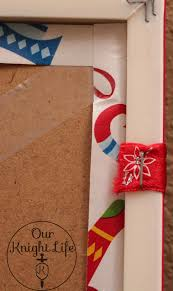 countdown to christmas how to display your christmas cards diy