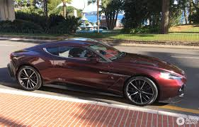 zagato car aston martin vanquish zagato 29 january 2017 autogespot