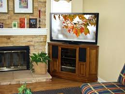 oak tv cabinets with glass doors tv stand corner tv stand with glass doors carson oak corner