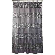 Black Grey And White Shower Curtain Amazon Com Lush Decor Night Sky Shower Curtain 72 Inch By 72