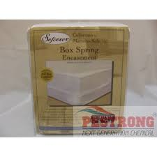 box spring cover encasement for bed bugs hotel cal king size each