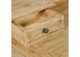 bureau secr aire bois bureau secrétaire bois patiné ancien style cagne 90cm cadeau
