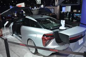 future toyota toyota u0027s back to the future mirai at 2015 la auto show