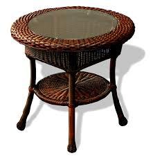 creative of wicker side table white wicker nightstand wicker
