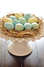 Rustic Easter Table Decorations by