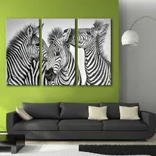 Home Decoration Painting by Online Get Cheap Zebra Paintings Aliexpress Com Alibaba Group