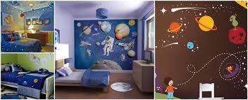 chambre theme espace deco chambre garcon theme espace visuel 3