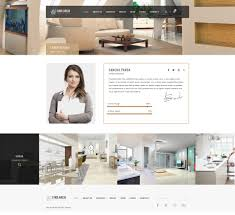 find arc interior design architecture psd template by themegrid