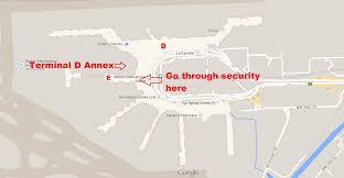 miami airport terminal map miami international airport hacks