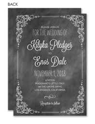 and black wedding invitations wedding invitations custom printed invitations