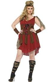Viking Halloween Costume Woman Size Viking Queen Costume 65 Size