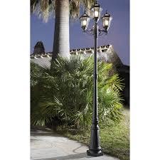 reverbere en fonte lampadaire extérieur eclairage jardin leroy merlin