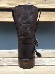 tan biker boots stallion urban biker boot bronze buckle handmade in usa