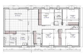 plan de maison de plain pied avec 3 chambres plan de maison plain pied gratuit 3 chambres idées décoration