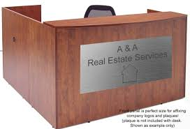 L Shaped Reception Desks L Shaped Reception Desk For 999 Free Shipping In Stock