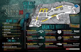 Universal Park Orlando Map by Universal Orlando U0027s Halloween Horror Nights 26 Map Revealed