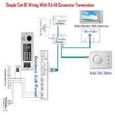 8 apartment unit intercom 8 unit access control intercom system