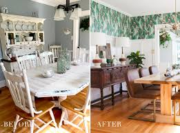 before u0026 after modern vintage dining room reveal jessica brigham