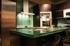glass top kitchen island kitchen awesome kitchen island with recycled glass countertops and