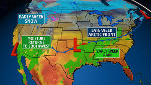 Current Us Weather Map Usa National Forecast The Weather Channel