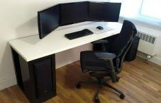 Dual Monitor Gaming Desk Pc Gaming Desk For Gaming Enthusiasts Signin Works