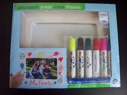 amazon com bed bath beyond decorate your own photo frame kit by bed bath beyond