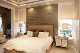 Beach Style Master Bedroom Bedroom Gray Accent Wall Bedroom Contemporary With Master