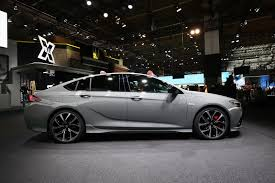 opel insignia four door opel insignia gsi looking mighty good in frankfurt