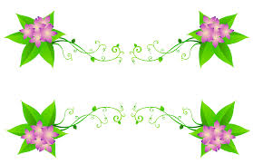 Floral Decor Beautiful Purple Floral Decor Png Clipart Clip Art Library