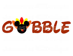 disney 2015 thanksgiving gobble diy printable 2015 thanksgiving