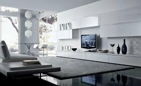 Livingroom Units by Living Room Beautiful White Black Wood Glass Unique Design