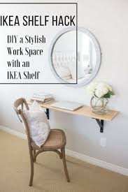 ikea shelf hack ikea shelf hack how to diy a stylish work space with an ikea shelf