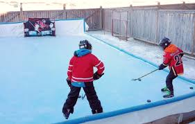 Best Backyard Hockey Rinks Nice Ice How To Make The Best Outdoor Skating Rink Calgary