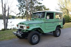 1977 gasoline toyota land cruiser suv in florida for sale used