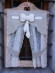 Immagini Tende Country by Tendina Con Fiocco Centrale Curtains Pinterest Tende