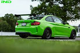 dark green bmw ind delivers a green bmw m2 coupe