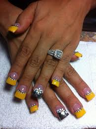 165 best yellow nail art images on pinterest make up pretty