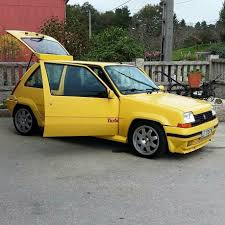 renault yellow renault 5 gt turbo yellow cars pinterest cars