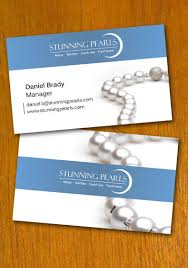 pearl jewelry business card template by danbradster on deviantart