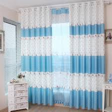 White And Blue Curtains Blue White Nautical Curtains For Bedroom