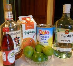 rum punch for a party just one donna